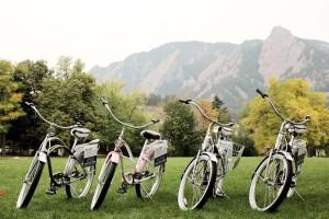 Bikes and Flatirons