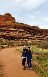 Jen and me at Red Rocks