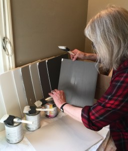 Va. painting color boards